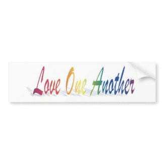 Love Bumper Sticker bumpersticker