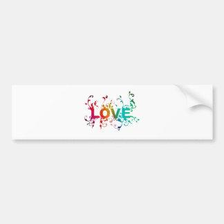 Love! Bumper Sticker