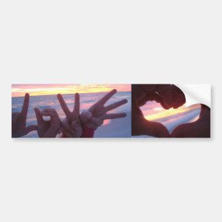 Love Bumper Sticker