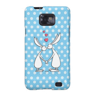 Love bunnies - blue galaxy SII covers