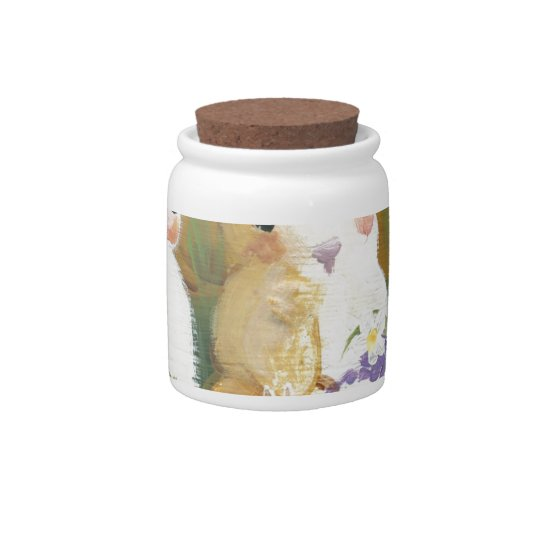 love bunnies candy jars