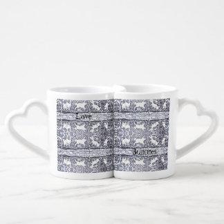 Love Bunnies Coffee Mug Set