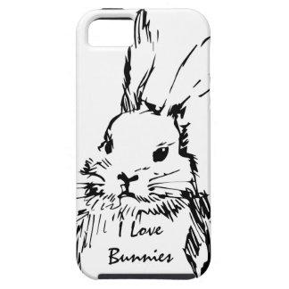 Love Bunnies (customizable) iPhone SE/5/5s Case