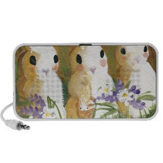 love bunnies iPod speakers