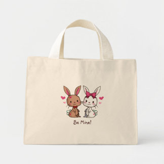 Love Bunnies Mini Tote Bag