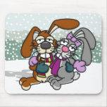 Love Bunnies Mousepad
