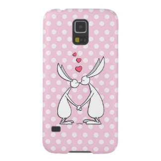 Love bunnies - pink case for galaxy s5