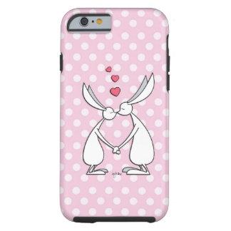 Love bunnies - pink iPhone 6 case