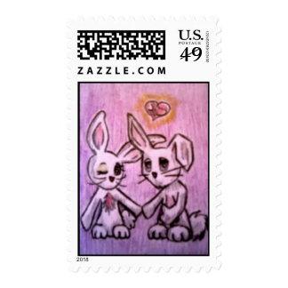 Love Bunnies Postage
