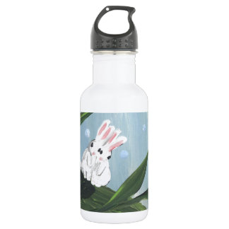 love bunnies stainless steel water bottle