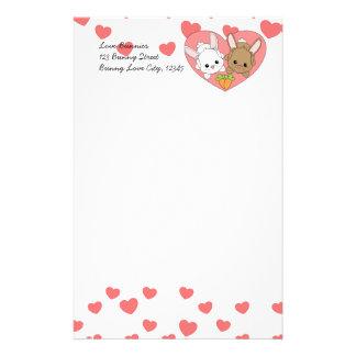 Love Bunnies Stationery Design