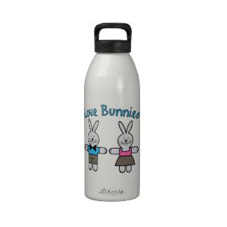 Love Bunnies Water Bottles