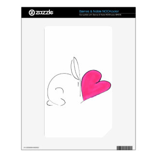 love bunny5.png decal for the NOOK color