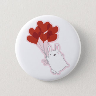 Love Bunny Button