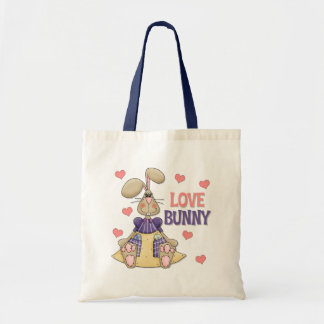 Love Bunny Kids Easter Gift Tote Bag
