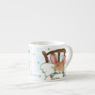 love bunny mug espresso cup