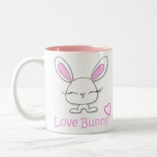 Love Bunny Two-Tone Coffee Mug