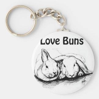 Love Buns Keychain