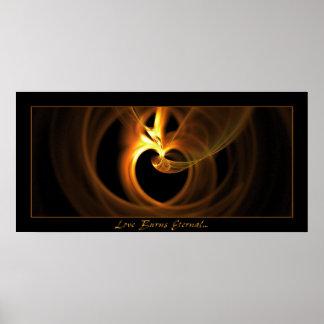 Love Burns Eternal Poster