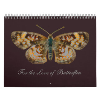 Love Butterflies Butterfly and Flower Photography Calendar