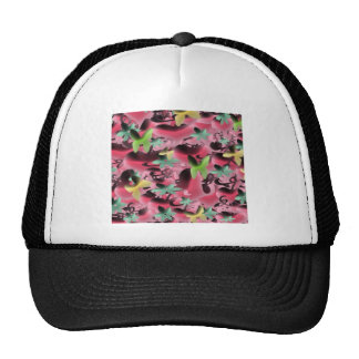 Love & Butterflies in Pink Purple Trucker Hat