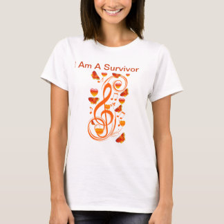 Love & Butterflies,Music notes_ T-Shirt