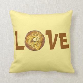 LOVE Butternut Crunch Donut Doughnut Pillow