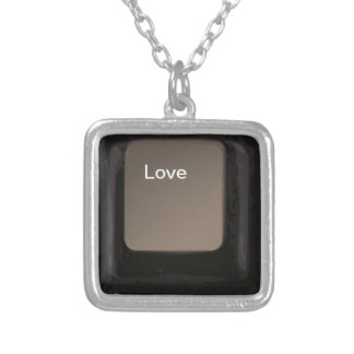 Love Button / Key Personalized Necklace