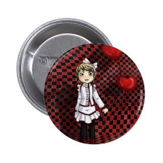 Love by a String Pinback Button