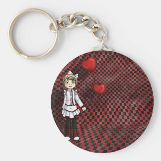 Love by a String Keychain
