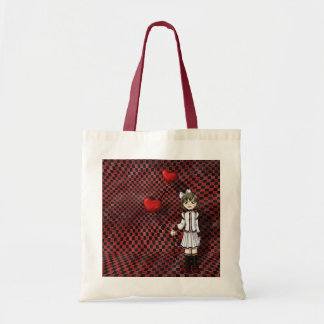 Love by a String Tote Bag