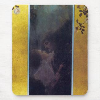 Love by Gustav Klimt Mousepad