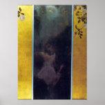 Love by Gustav Klimt Poster