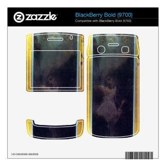 Love by Gustav Klimt BlackBerry Bold Decal