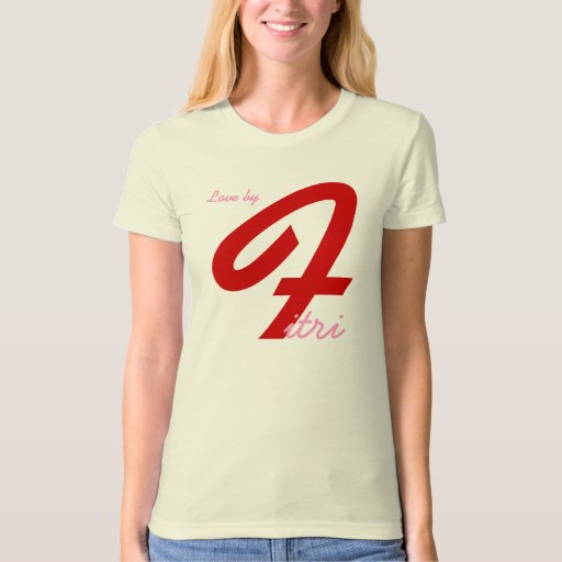 Love by t-shirt