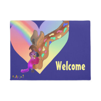 Love by The Happy Juul Company Doormat
