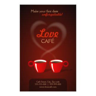 Love Cafe flyer