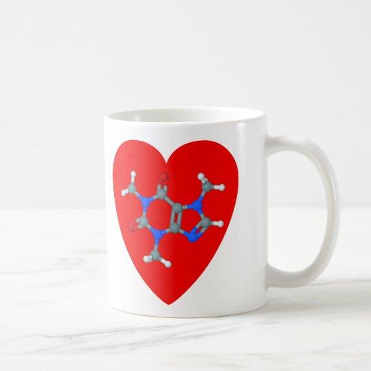 Love caffeine mug