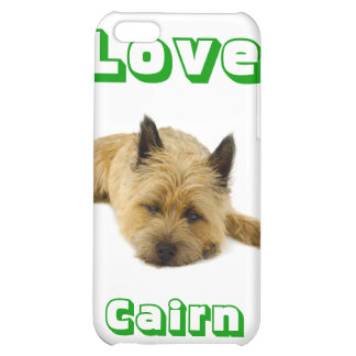 Love Cairn Terrier Puppy Dog iPhone 4 Cover Shell