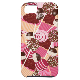 Love Cake Pops and Cupcakes iPhone4 Cover