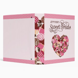 Love Cake Pops and Cupcakes Recipe Binder