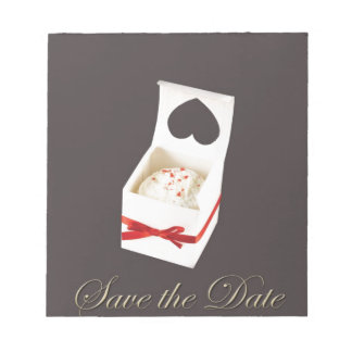 Love Cake Save the Date Memo Note Pads