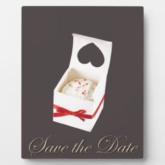 Love Cake Save the Date Plaque
