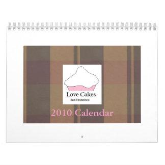 Love Cakes 2010 Calendar