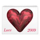 Love Calendar 2009