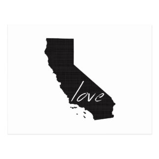 Love California Postcard