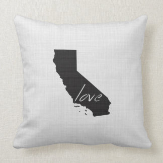 Love California Throw Pillow