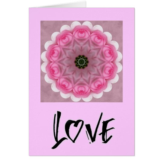 love calligraphy card