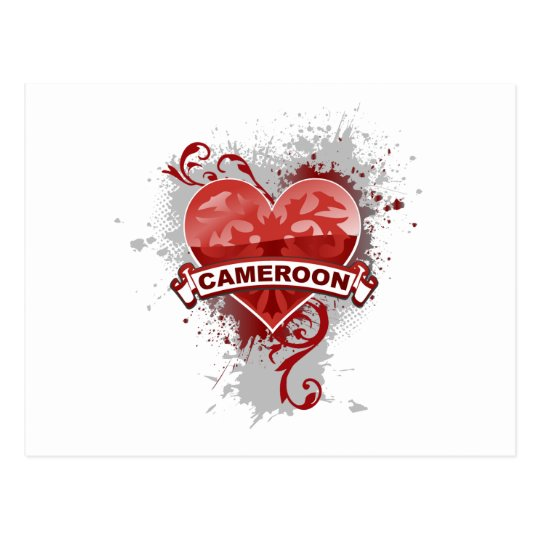 Love Cameroon Postcard