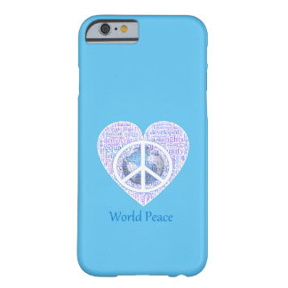 Love can bring world peace II Barely There iPhone 6 Case